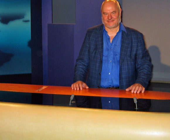 KP am Platz des Tagesschau-Sprechers beim NDR
